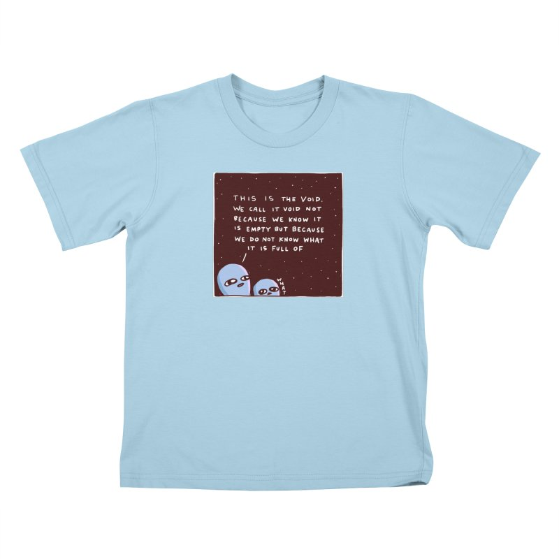 STRANGE PLANET SPECIAL PRODUCT: THE VOID Kids T-Shirt by Nathan W Pyle