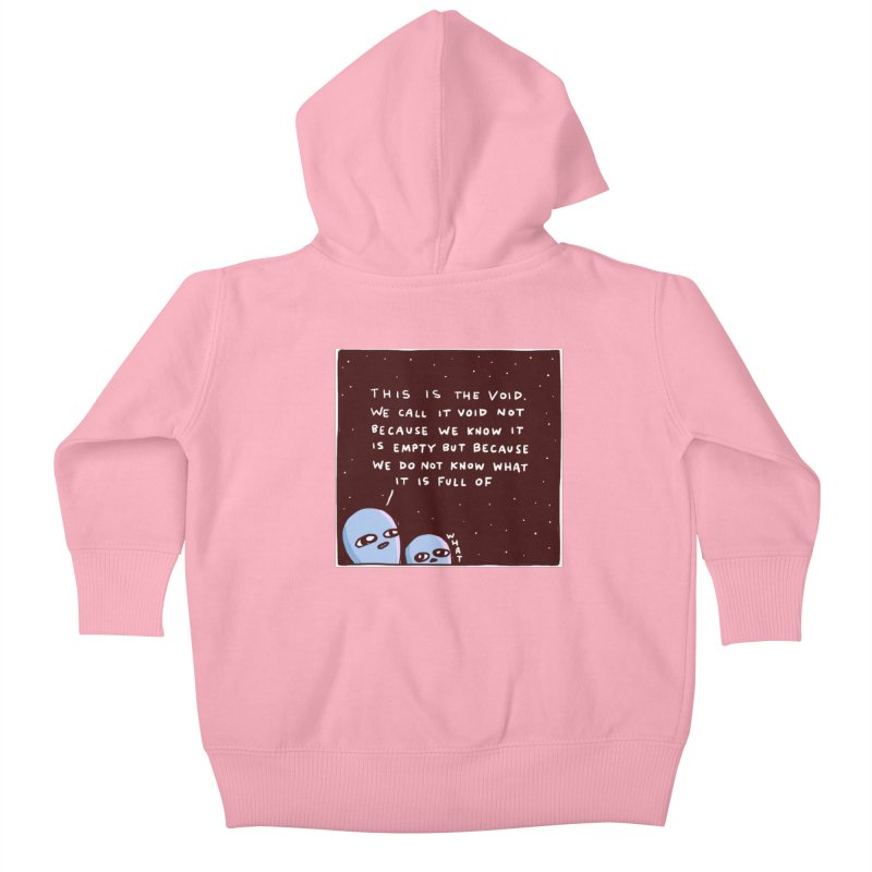 STRANGE PLANET SPECIAL PRODUCT: THE VOID Kids Baby Zip-Up Hoody by Nathan W Pyle Shop   Strange Planet Store   Thread