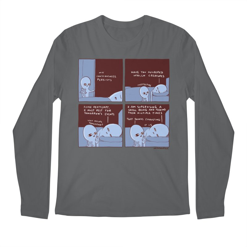 STRANGE PLANET: MY CONSCIOUSNESS PERSISTS Men's Longsleeve T-Shirt by Nathan W Pyle