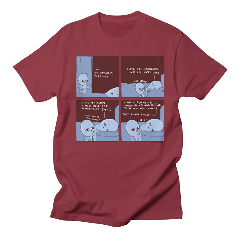 STRANGE PLANET: MY CONSCIOUSNESS PERSISTS Women's Regular Unisex T-Shirt by Nathan W Pyle