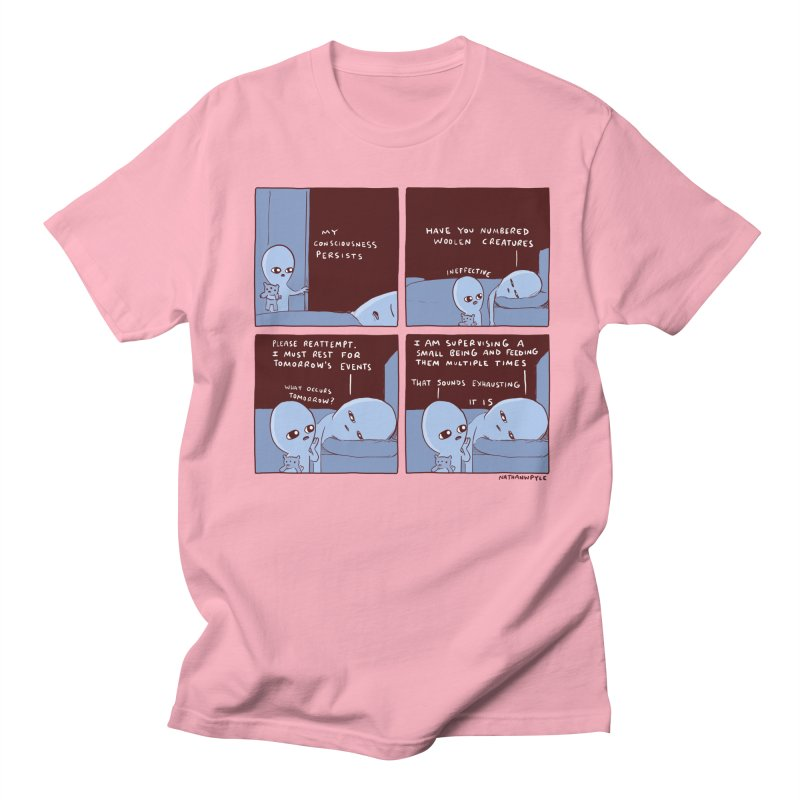 STRANGE PLANET: MY CONSCIOUSNESS PERSISTS Men's Regular T-Shirt by Nathan W Pyle