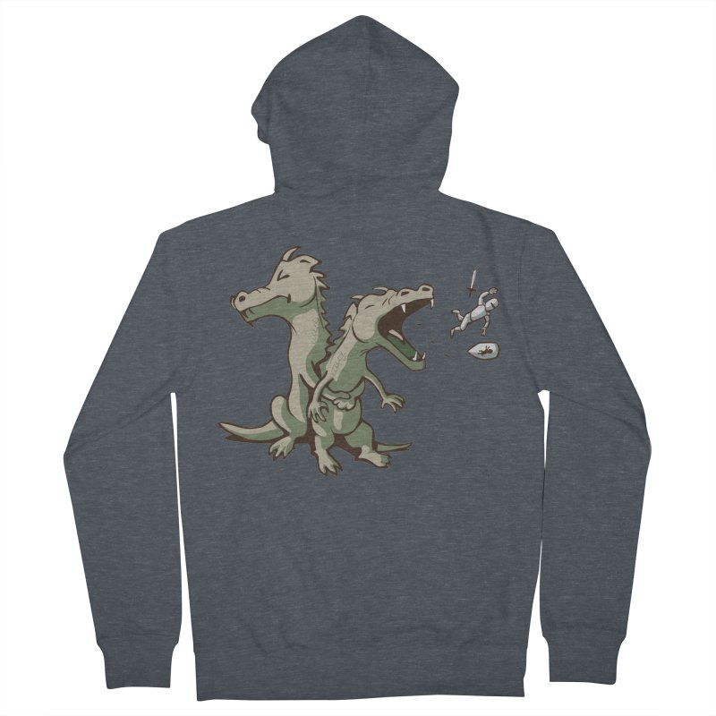 Brave Sir Heimlich Women's Zip-Up Hoody by nathanwpyle's Artist Shop