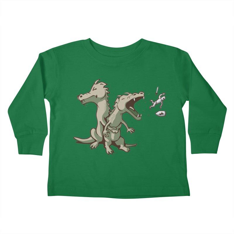 Brave Sir Heimlich Kids Toddler Longsleeve T-Shirt by nathanwpyle's Artist Shop