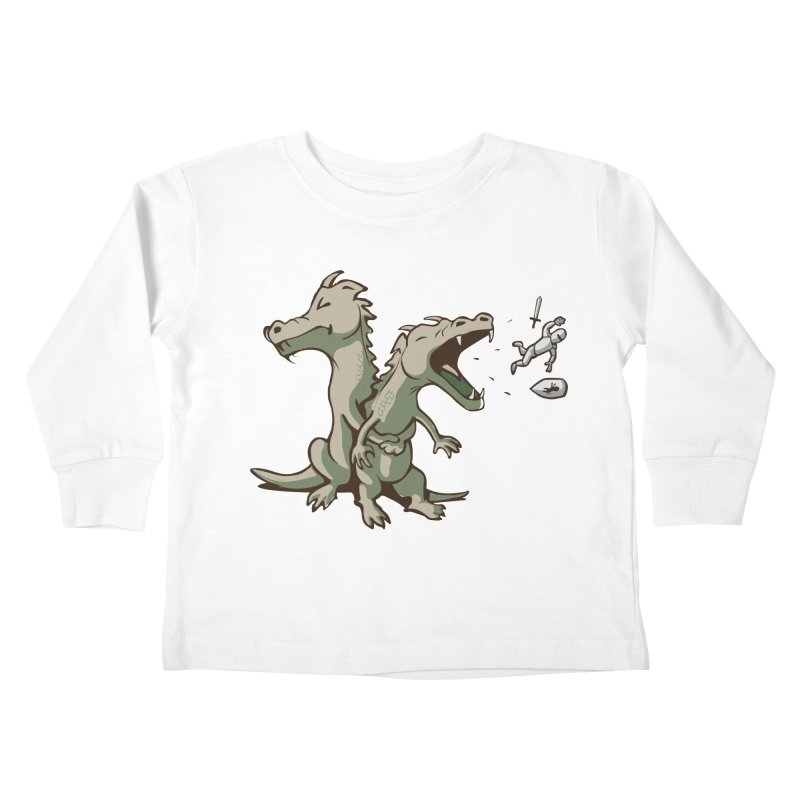 Brave Sir Heimlich Kids Toddler Longsleeve T-Shirt by nathanwpyle's Artist Shop