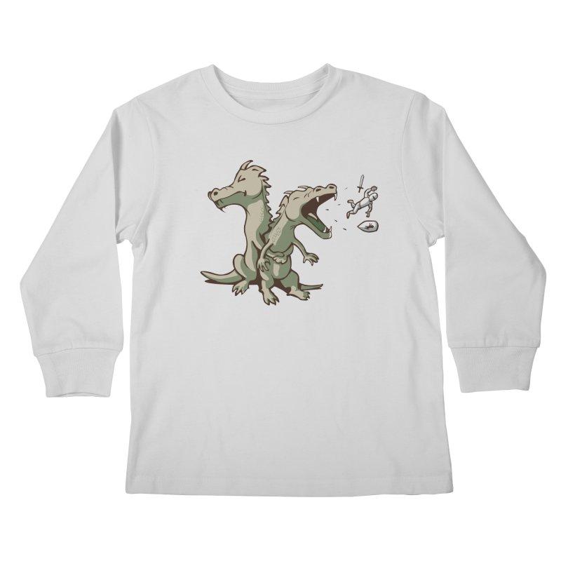 Brave Sir Heimlich Kids Longsleeve T-Shirt by nathanwpyle's Artist Shop