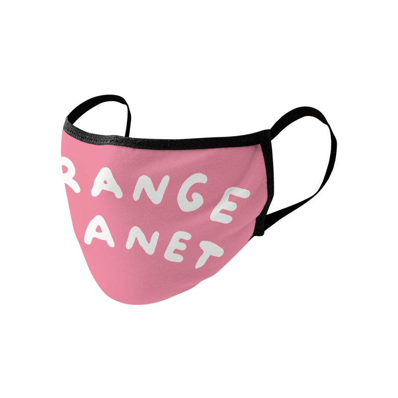 STRANGE PLANET: LOGO Accessories Face Mask by Nathan W Pyle