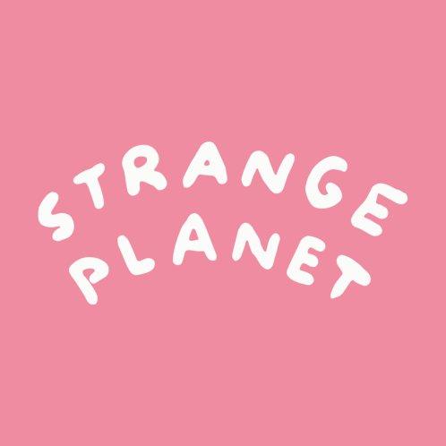 Design for STRANGE PLANET: LOGO