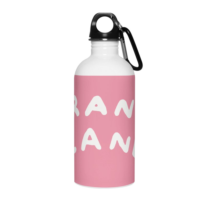 STRANGE PLANET: LOGO Accessories Water Bottle by Nathan W Pyle