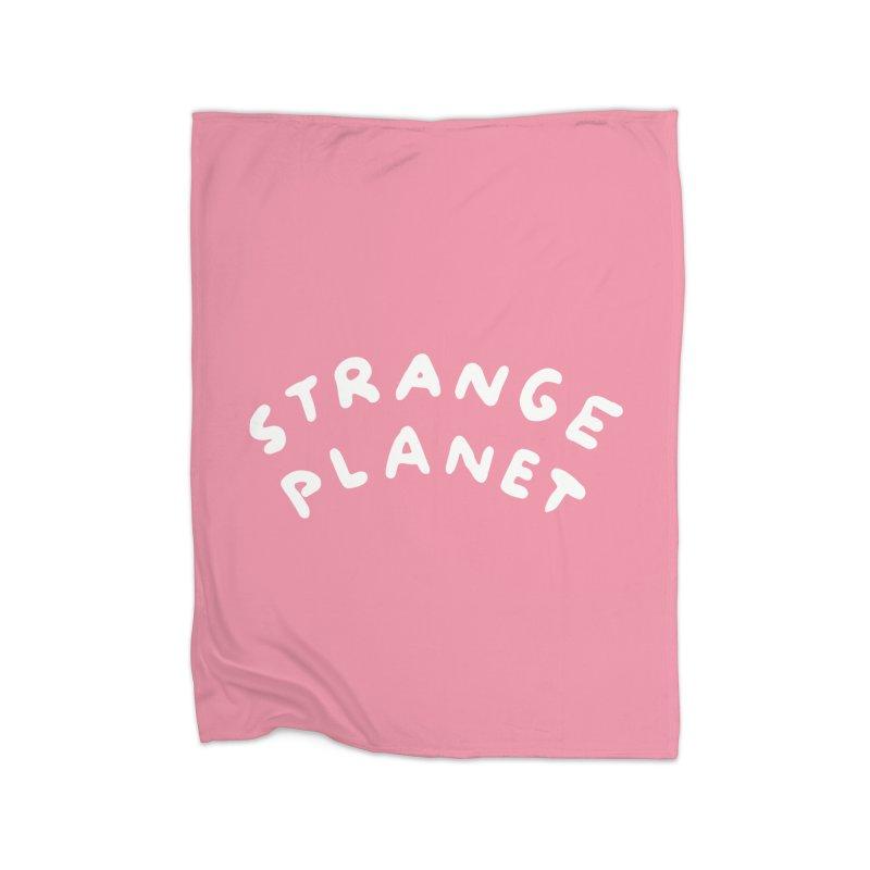 STRANGE PLANET: LOGO Home Blanket by Nathan W Pyle