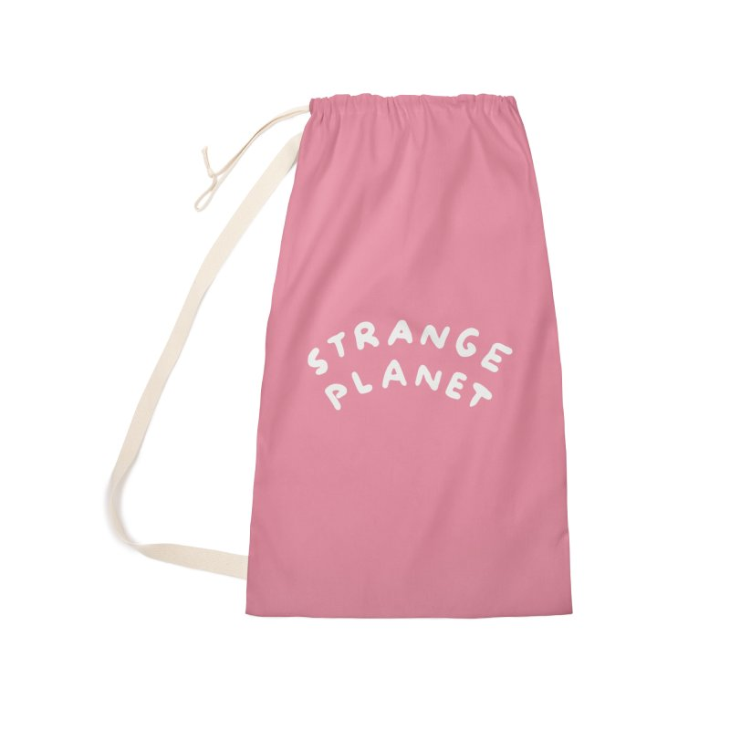 STRANGE PLANET: LOGO Accessories Laundry Bag Bag by Nathan W Pyle