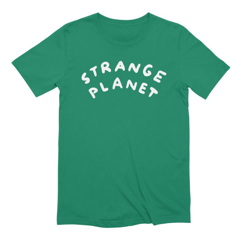 STRANGE PLANET: LOGO Men's Extra Soft T-Shirt by Nathan W Pyle