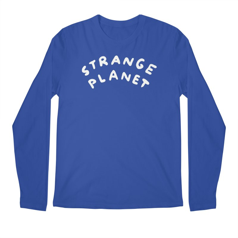 STRANGE PLANET: LOGO Men's Regular Longsleeve T-Shirt by Nathan W Pyle