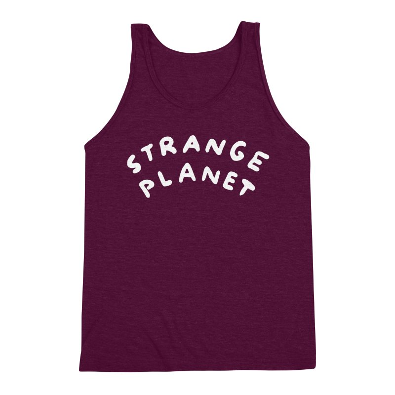 STRANGE PLANET: LOGO Men's Triblend Tank by Nathan W Pyle