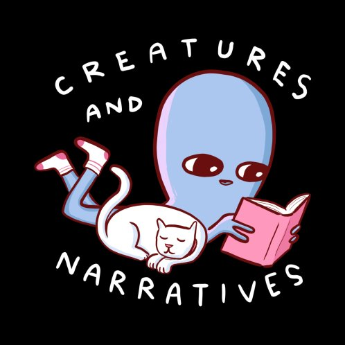Design for STRANGE PLANET SPECIAL PRODUCT: CREATURES AND NARRATIVES