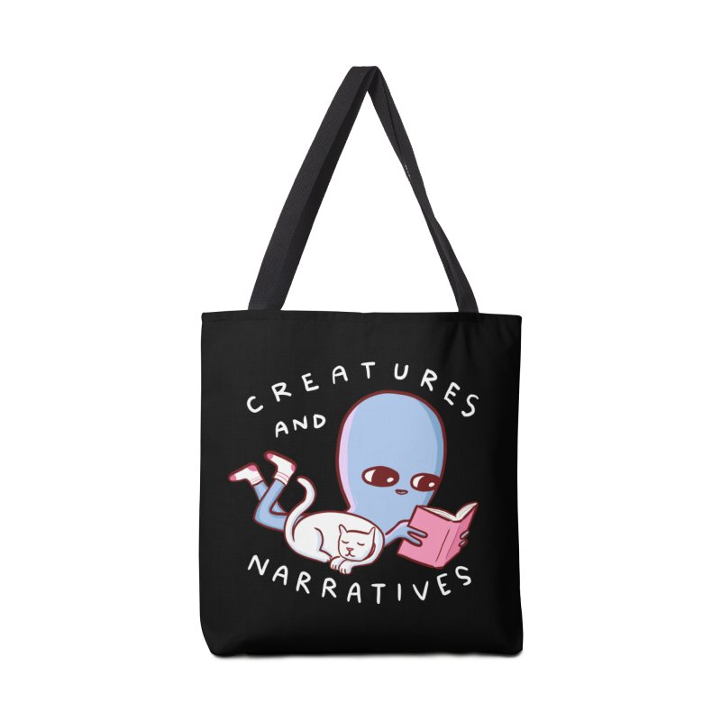 STRANGE PLANET SPECIAL PRODUCT: CREATURES AND NARRATIVES Accessories Tote Bag Bag by Nathan W Pyle
