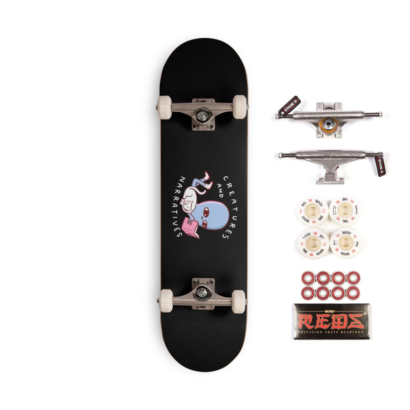 STRANGE PLANET SPECIAL PRODUCT: CREATURES AND NARRATIVES Accessories Complete - Pro Skateboard by Nathan W Pyle