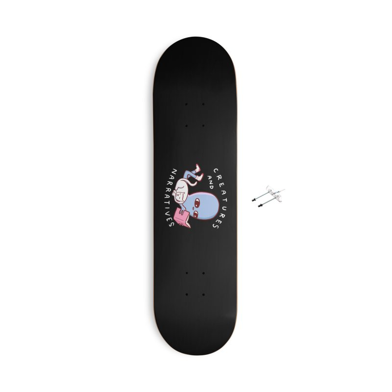 STRANGE PLANET SPECIAL PRODUCT: CREATURES AND NARRATIVES Accessories With Hanging Hardware Skateboard by Nathan W Pyle