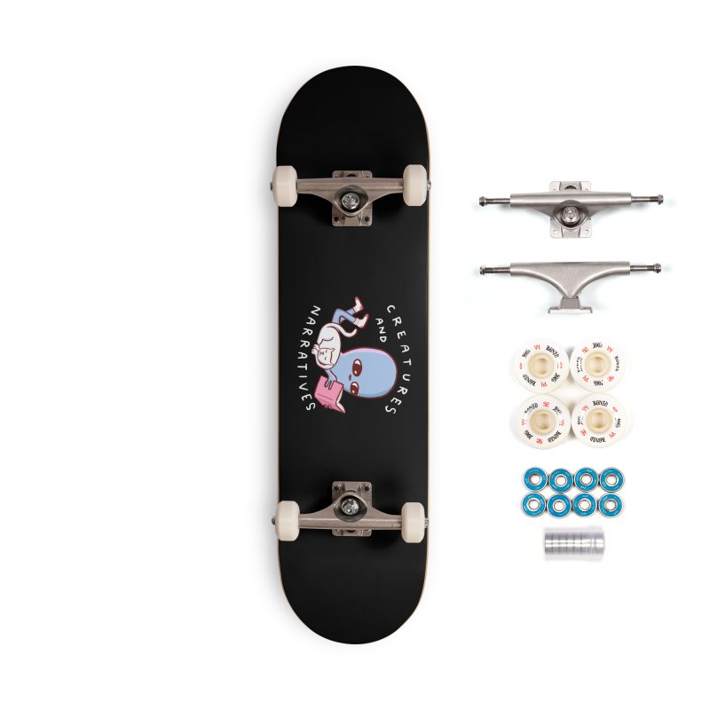 STRANGE PLANET SPECIAL PRODUCT: CREATURES AND NARRATIVES Accessories Complete - Premium Skateboard by Nathan W Pyle