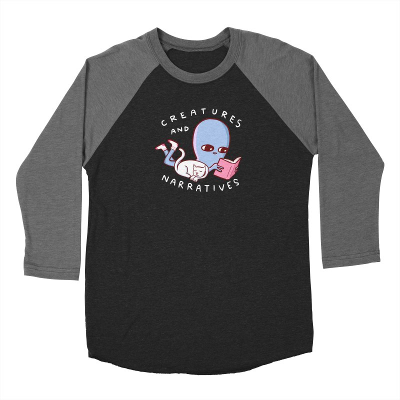 STRANGE PLANET SPECIAL PRODUCT: CREATURES AND NARRATIVES Men's Baseball Triblend Longsleeve T-Shirt by Nathan W Pyle