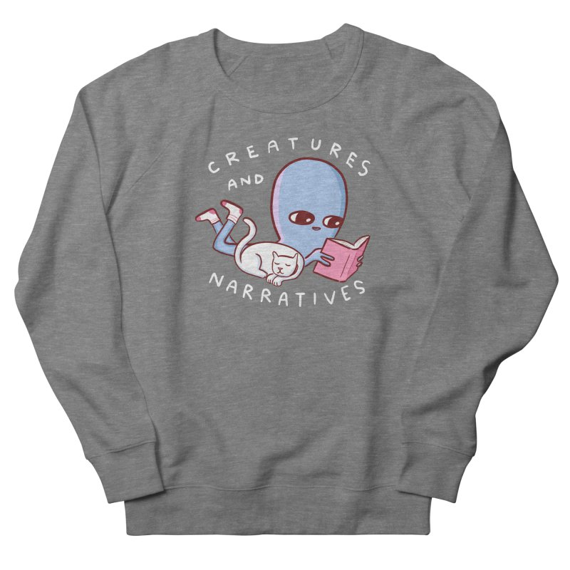 STRANGE PLANET SPECIAL PRODUCT: CREATURES AND NARRATIVES Men's French Terry Sweatshirt by Nathan W Pyle