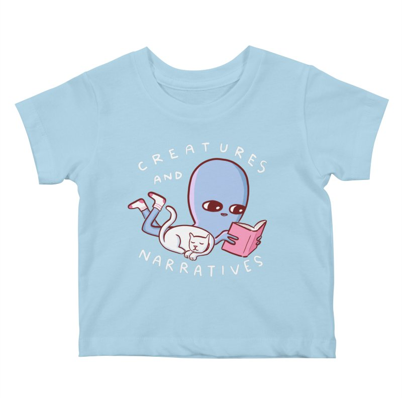 STRANGE PLANET SPECIAL PRODUCT: CREATURES AND NARRATIVES Kids Baby T-Shirt by Nathan W Pyle