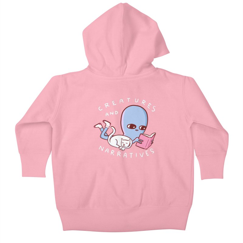 STRANGE PLANET SPECIAL PRODUCT: CREATURES AND NARRATIVES Kids Baby Zip-Up Hoody by Nathan W Pyle