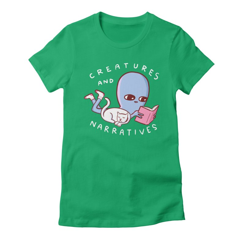 STRANGE PLANET SPECIAL PRODUCT: CREATURES AND NARRATIVES Women's Fitted T-Shirt by Nathan W Pyle