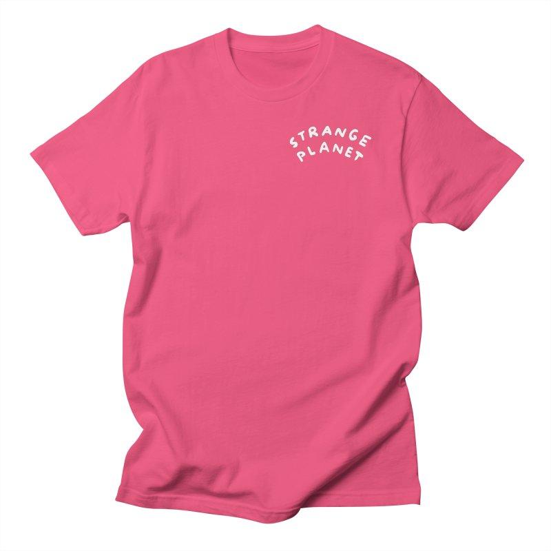 STRANGE PLANET: POCKET LOGO Men's T-Shirt by Nathan W Pyle