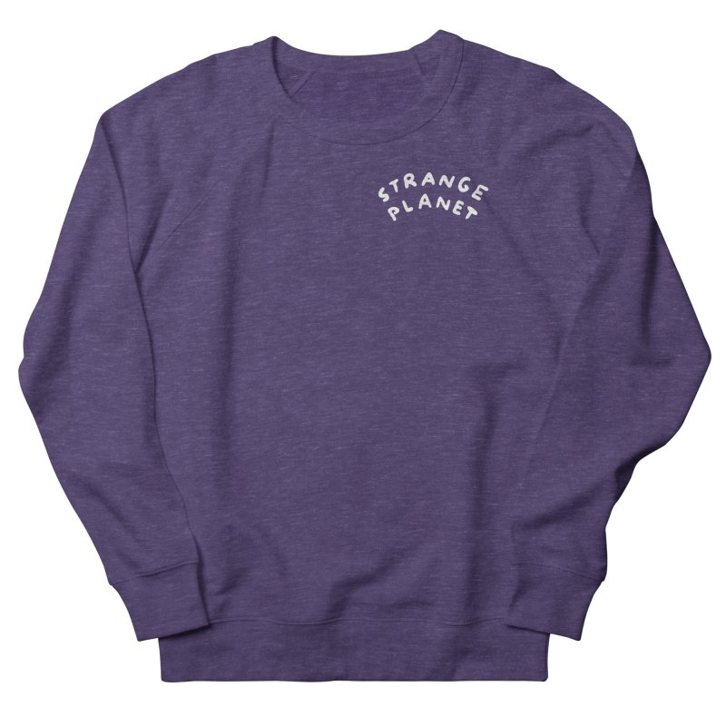 STRANGE PLANET: POCKET LOGO Women's French Terry Sweatshirt by Nathan W Pyle