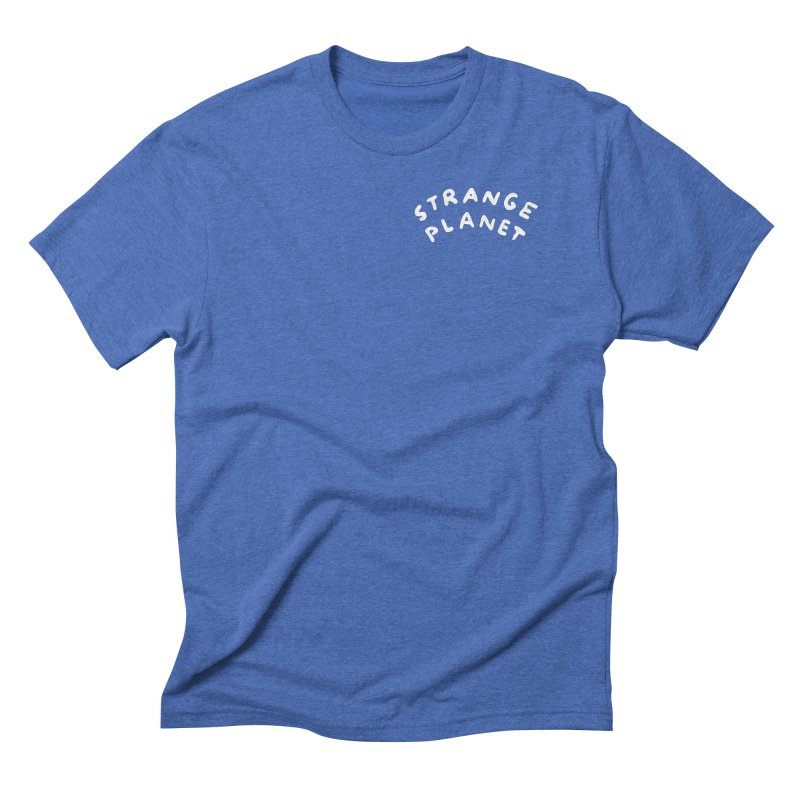 STRANGE PLANET: POCKET LOGO Men's Triblend T-Shirt by Nathan W Pyle