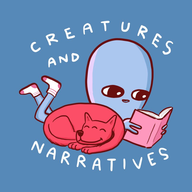 STRANGE PLANET SPECIAL PRODUCT: CREATURES AND NARRATIVE (MORAL CREATURE EDITION) Women's Tank by Nathan W Pyle