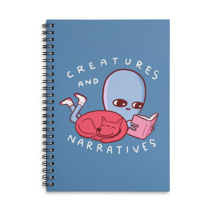 STRANGE PLANET SPECIAL PRODUCT: CREATURES AND NARRATIVE (MORAL CREATURE EDITION) Accessories Notebook by Nathan W Pyle Shop | Strange Planet Store | Thread