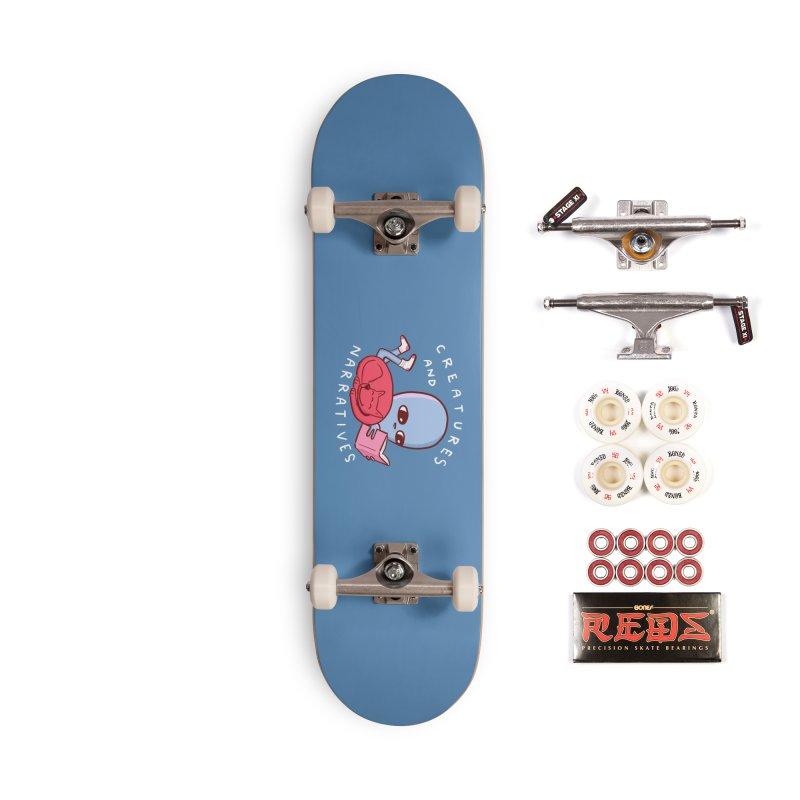 STRANGE PLANET SPECIAL PRODUCT: CREATURES AND NARRATIVE (MORAL CREATURE EDITION) Accessories Complete - Pro Skateboard by Nathan W Pyle