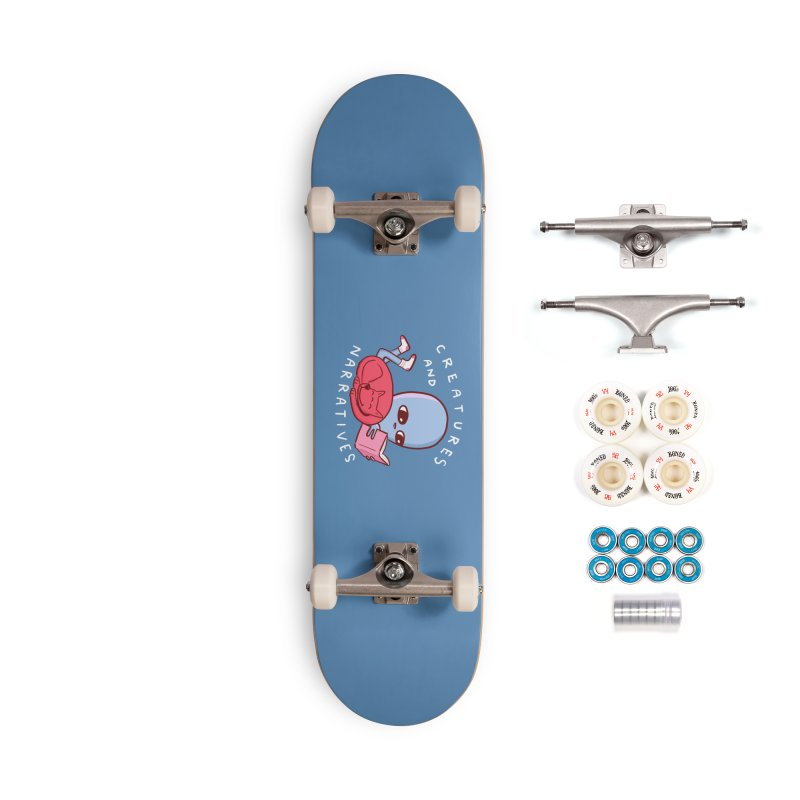 STRANGE PLANET SPECIAL PRODUCT: CREATURES AND NARRATIVE (MORAL CREATURE EDITION) Accessories Complete - Premium Skateboard by Nathan W Pyle