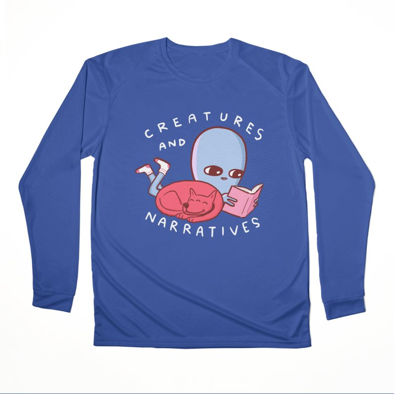 STRANGE PLANET SPECIAL PRODUCT: CREATURES AND NARRATIVE (MORAL CREATURE EDITION) Women's Performance Unisex Longsleeve T-Shirt by Nathan W Pyle
