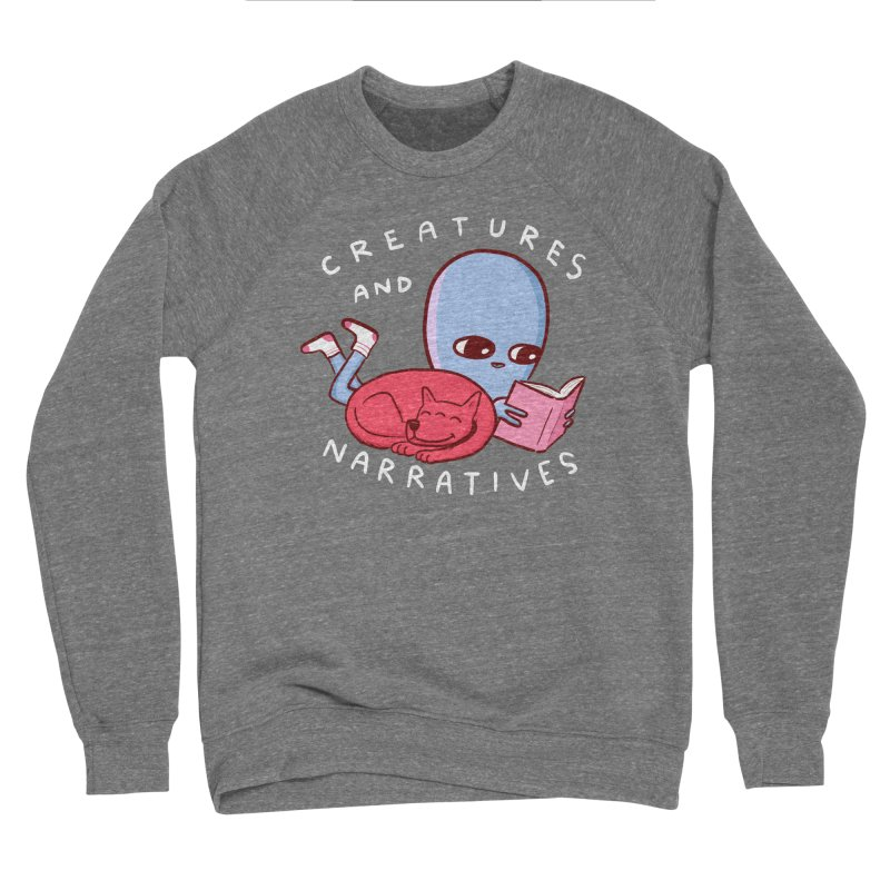 STRANGE PLANET SPECIAL PRODUCT: CREATURES AND NARRATIVE (MORAL CREATURE EDITION) Women's Sponge Fleece Sweatshirt by Nathan W Pyle