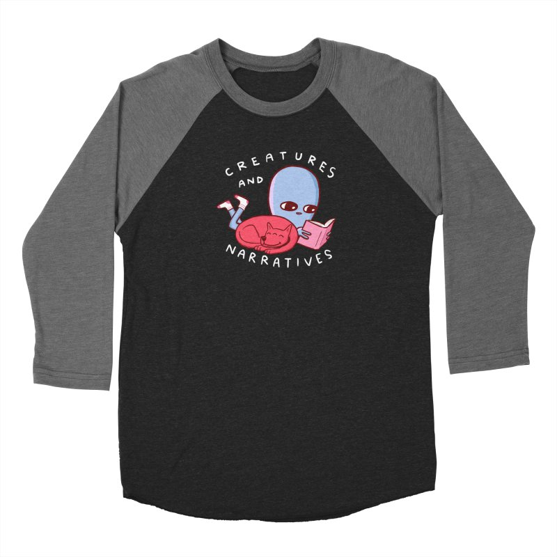 STRANGE PLANET SPECIAL PRODUCT: CREATURES AND NARRATIVE (MORAL CREATURE EDITION) Women's Baseball Triblend Longsleeve T-Shirt by Nathan W Pyle