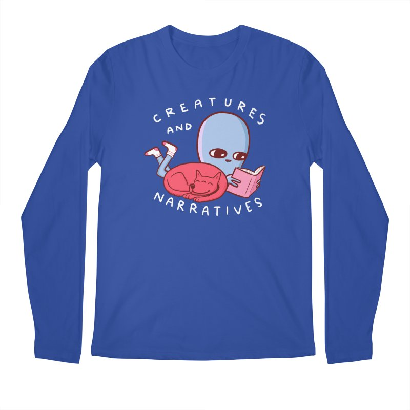 STRANGE PLANET SPECIAL PRODUCT: CREATURES AND NARRATIVE (MORAL CREATURE EDITION) Men's Regular Longsleeve T-Shirt by Nathan W Pyle