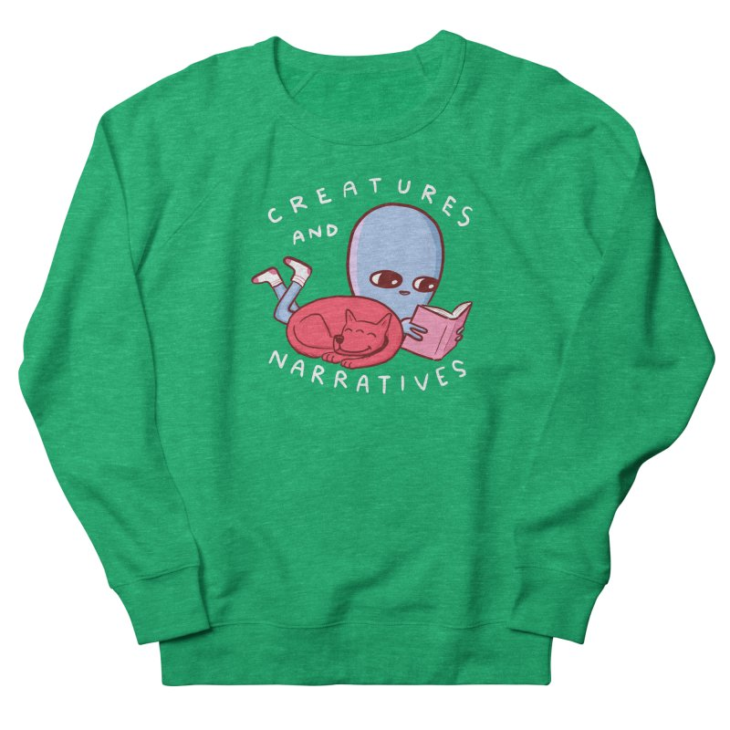 STRANGE PLANET SPECIAL PRODUCT: CREATURES AND NARRATIVE (MORAL CREATURE EDITION) Men's French Terry Sweatshirt by Nathan W Pyle