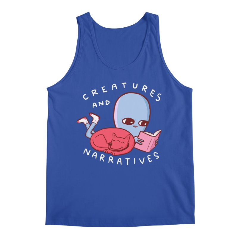 STRANGE PLANET SPECIAL PRODUCT: CREATURES AND NARRATIVE (MORAL CREATURE EDITION) Men's Regular Tank by Nathan W Pyle