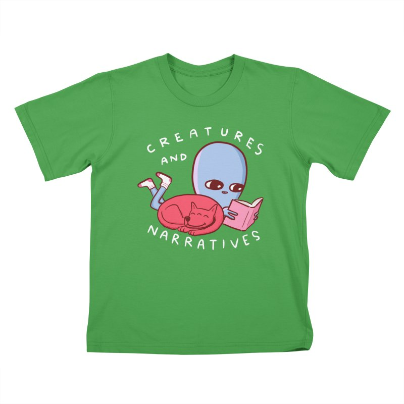 STRANGE PLANET SPECIAL PRODUCT: CREATURES AND NARRATIVE (MORAL CREATURE EDITION) Kids T-Shirt by Nathan W Pyle