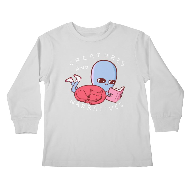 STRANGE PLANET SPECIAL PRODUCT: CREATURES AND NARRATIVE (MORAL CREATURE EDITION) Kids Longsleeve T-Shirt by Nathan W Pyle