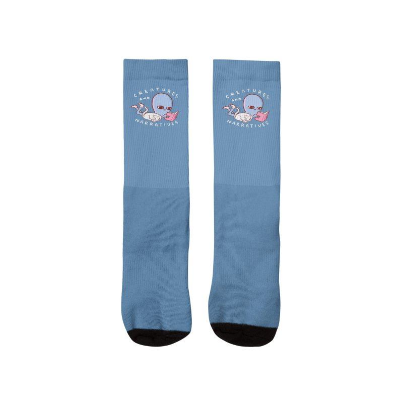 STRANGE PLANET SPECIAL PRODUCT: CREATURES AND NARRATIVE (MORAL CREATURE EDITION) Women's Socks by Nathan W Pyle Shop | Strange Planet Store | Thread