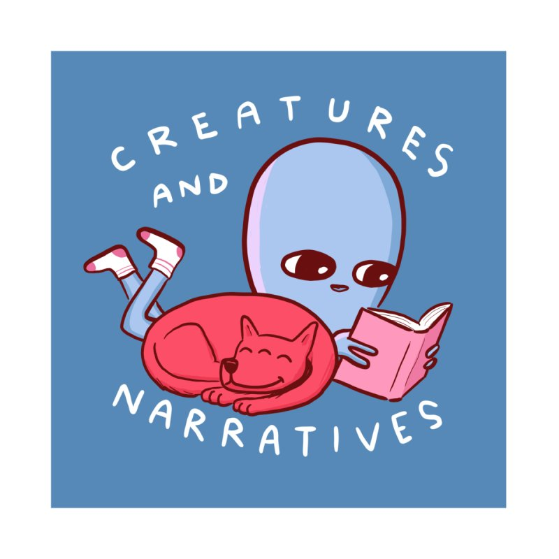 STRANGE PLANET STICKER AND MAGNET: CREATURES AND NARRATIVES (MORAL CREATURE EDITION) Accessories Sticker by Nathan W Pyle