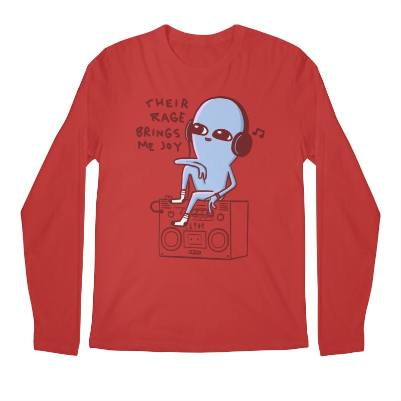STRANGER PLANET SPECIAL PRODUCT: THEIR RAGE BRINGS ME JOY Men's Regular Longsleeve T-Shirt by Nathan W Pyle