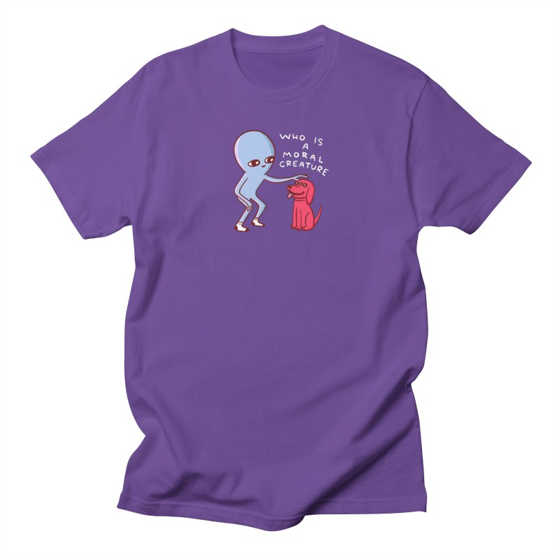 STRANGE PLANET SPECIAL PRODUCT: MORAL CREATURE Men's T-Shirt by Nathan W Pyle