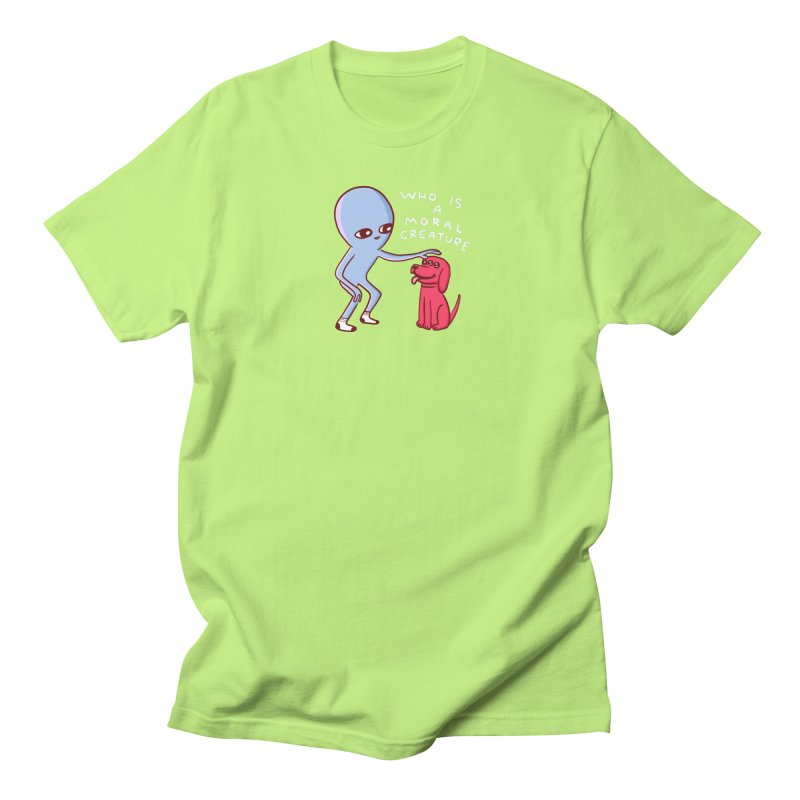 STRANGE PLANET SPECIAL PRODUCT: MORAL CREATURE Women's Regular Unisex T-Shirt by Nathan W Pyle