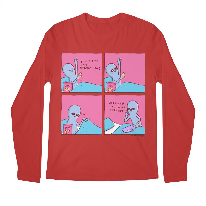 STRANGE PLANET: LIFEGIVER YOU WERE CORRECT Men's Regular Longsleeve T-Shirt by Nathan W Pyle