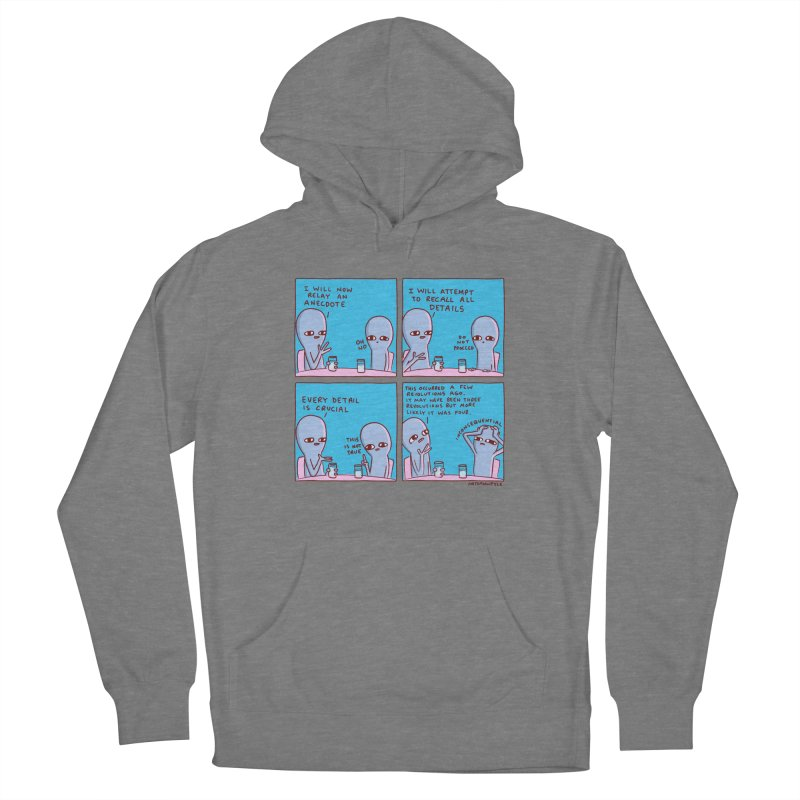 STRANGE PLANET: INCONSEQUENTIAL Women's French Terry Pullover Hoody by Nathan W Pyle