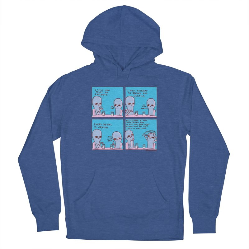 STRANGE PLANET: INCONSEQUENTIAL Men's French Terry Pullover Hoody by Nathan W Pyle